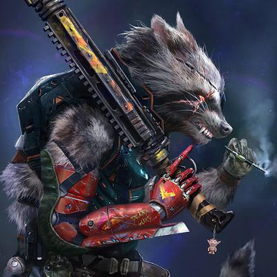 Fred rambaud fredram guardians rocket 01a