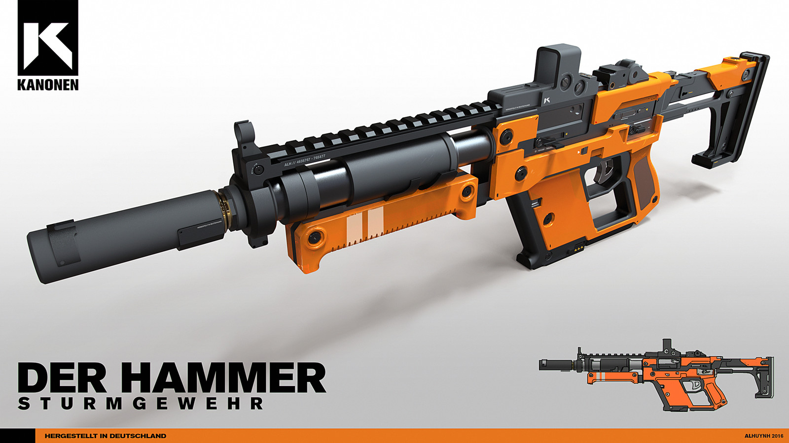 Der Hammer - Assault Rifle