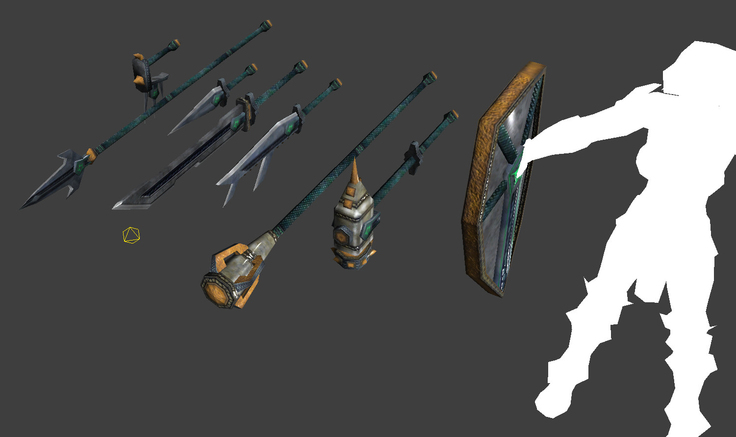 Kevin Burns - EverQuest weapon items