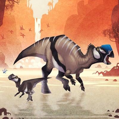 Johan egerkrans muttaburrasaurus