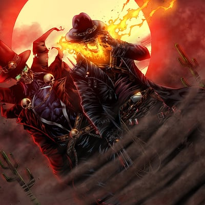 Maksim strelkov gunslinger spawn and western ghostrider5