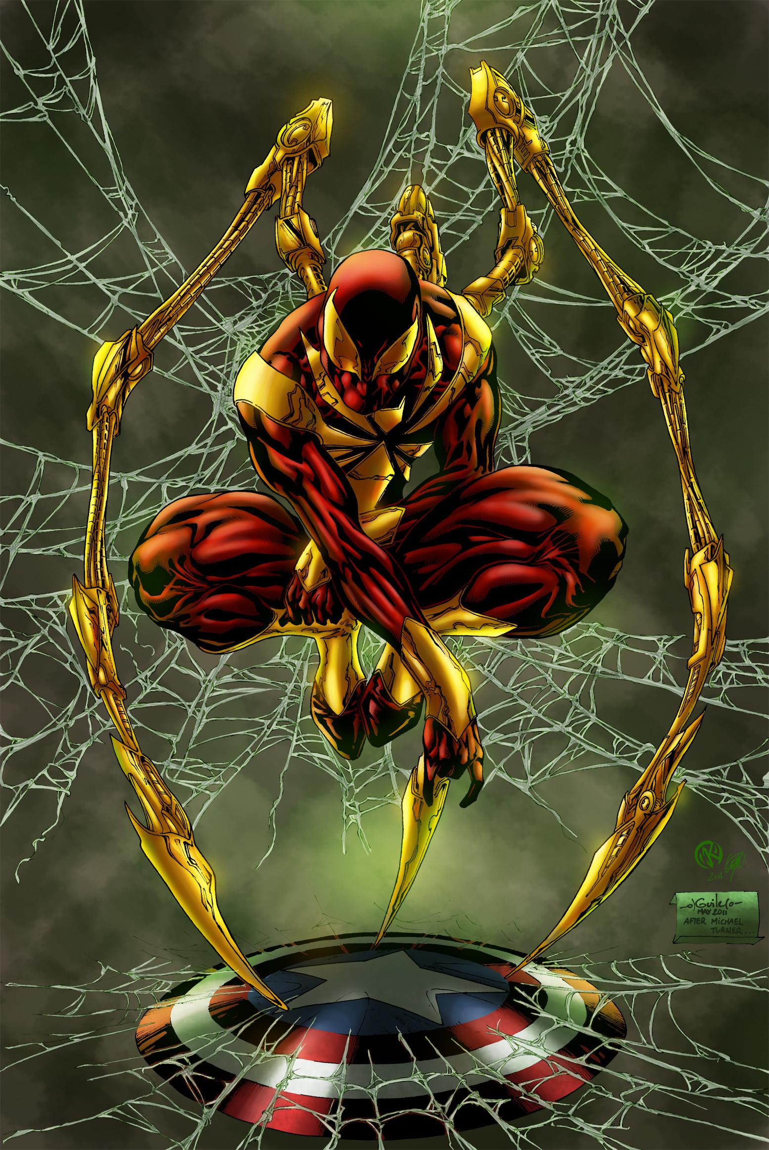 Maksim strelkov iron spider spiderguile6