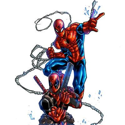 Maksim strelkov dex pool and spiderman commission joeyvazquez5