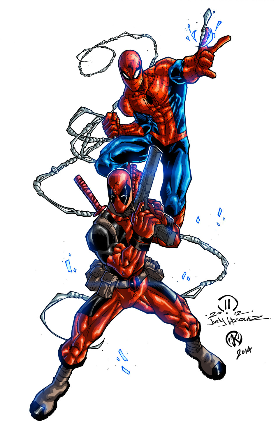 Maksim strelkov dex pool and spiderman commission joeyvazquez5
