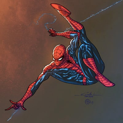 Maksim strelkov amazing spidey dec18th2014 by spiderguile2