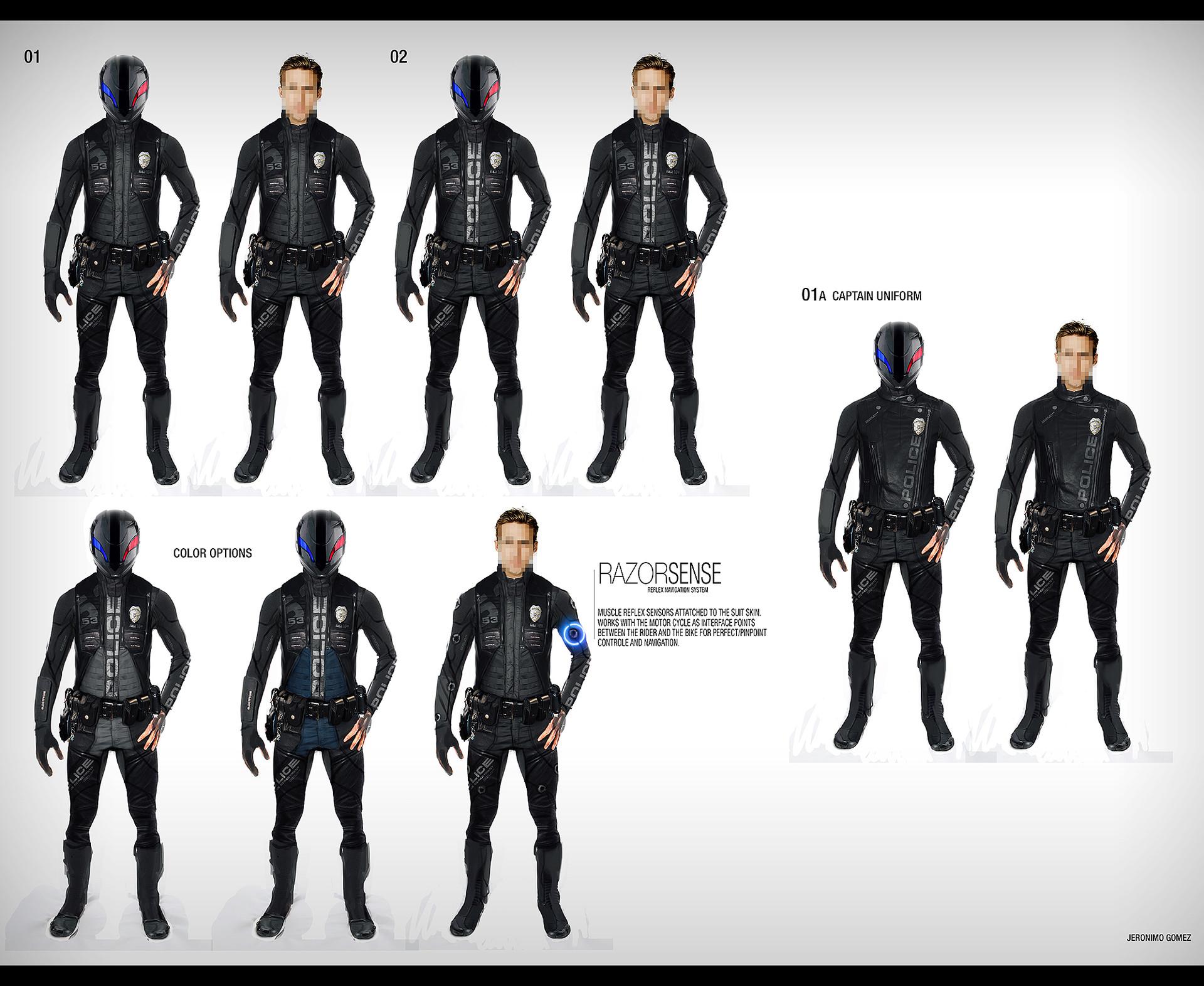 Jeronimo gomez j gomez police uniform 01