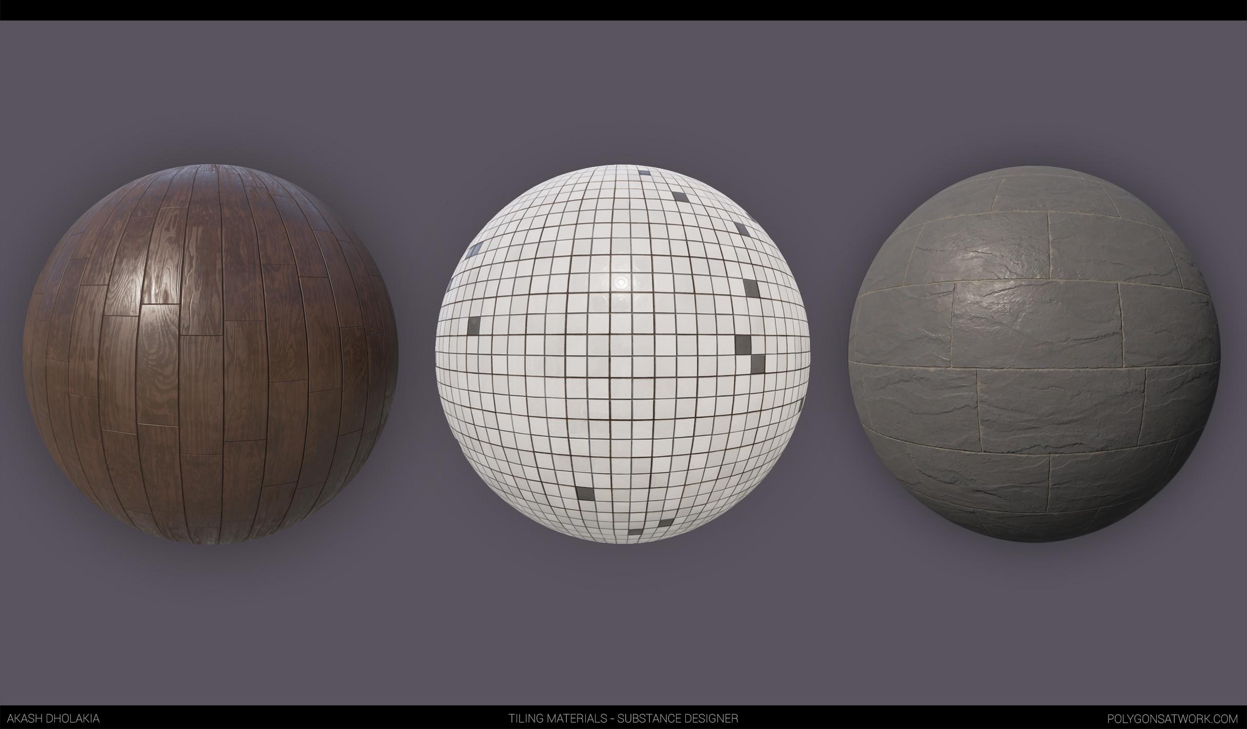Tiling Textures - Substance Designer