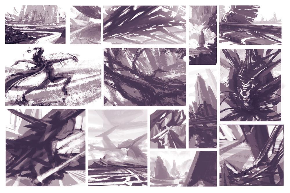 Alexander gorisch paint study 11
