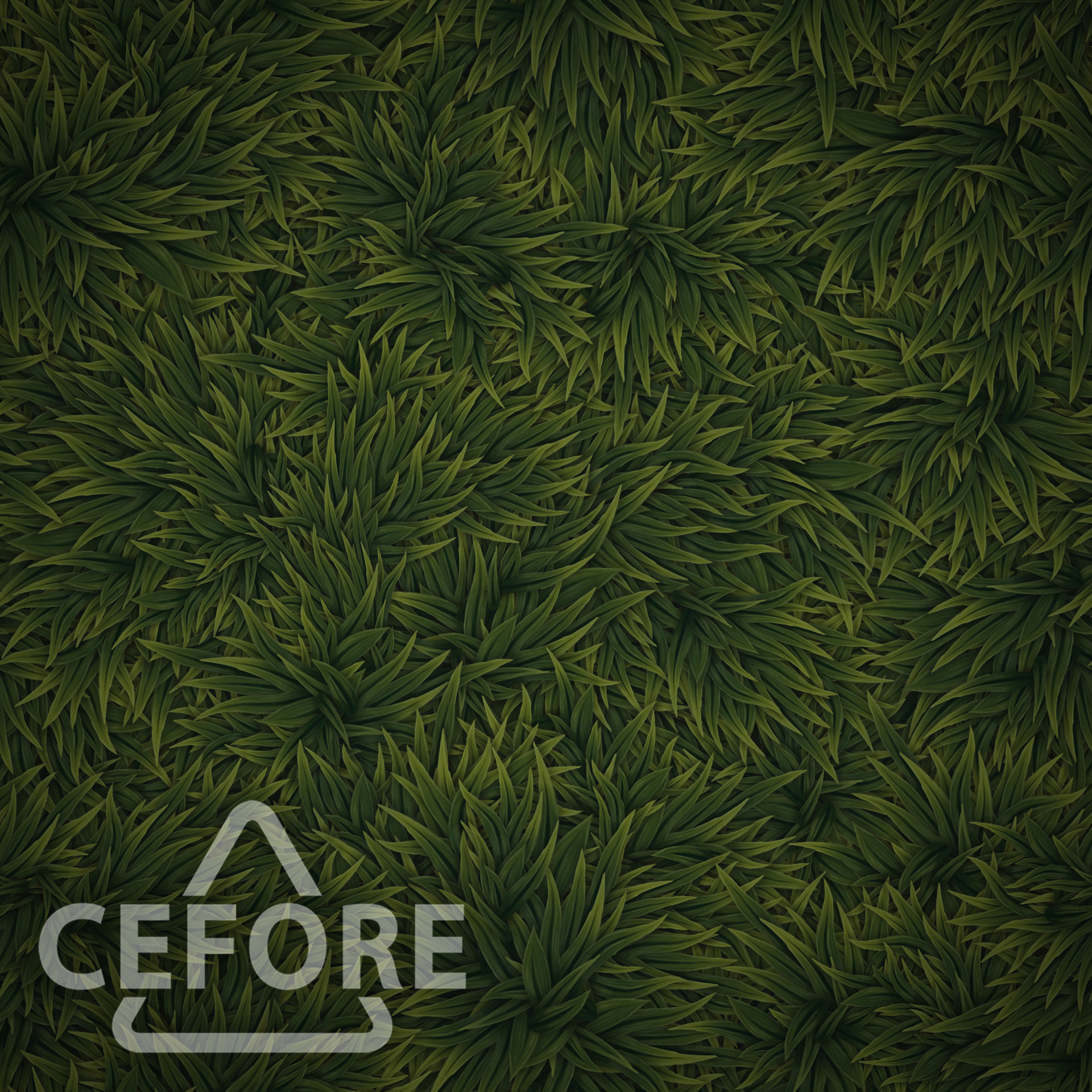 ArtStation Handpainted Grass Tileable Texture Tutorial Louis
