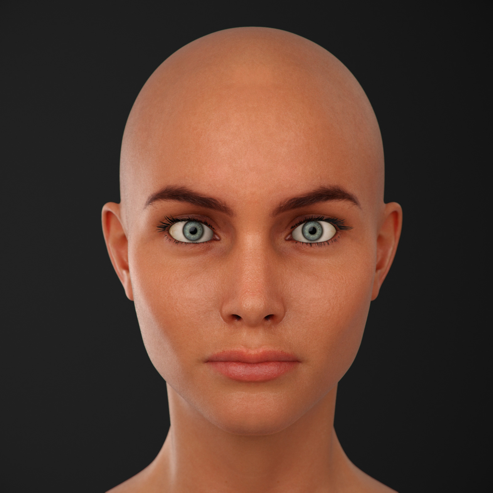 future human faces - HD 1600×1600