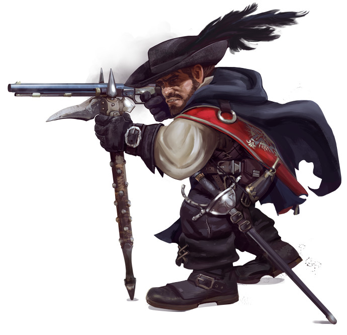 Mikael leger pzo 1129 swashbuckler musketeer