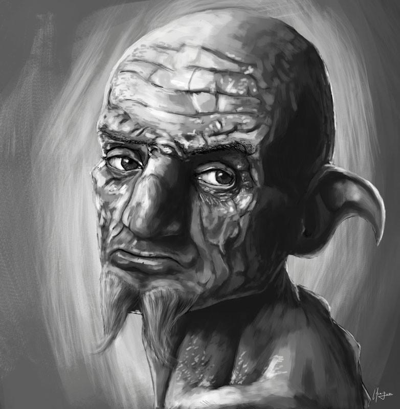 Efrain sosa retrato hombre