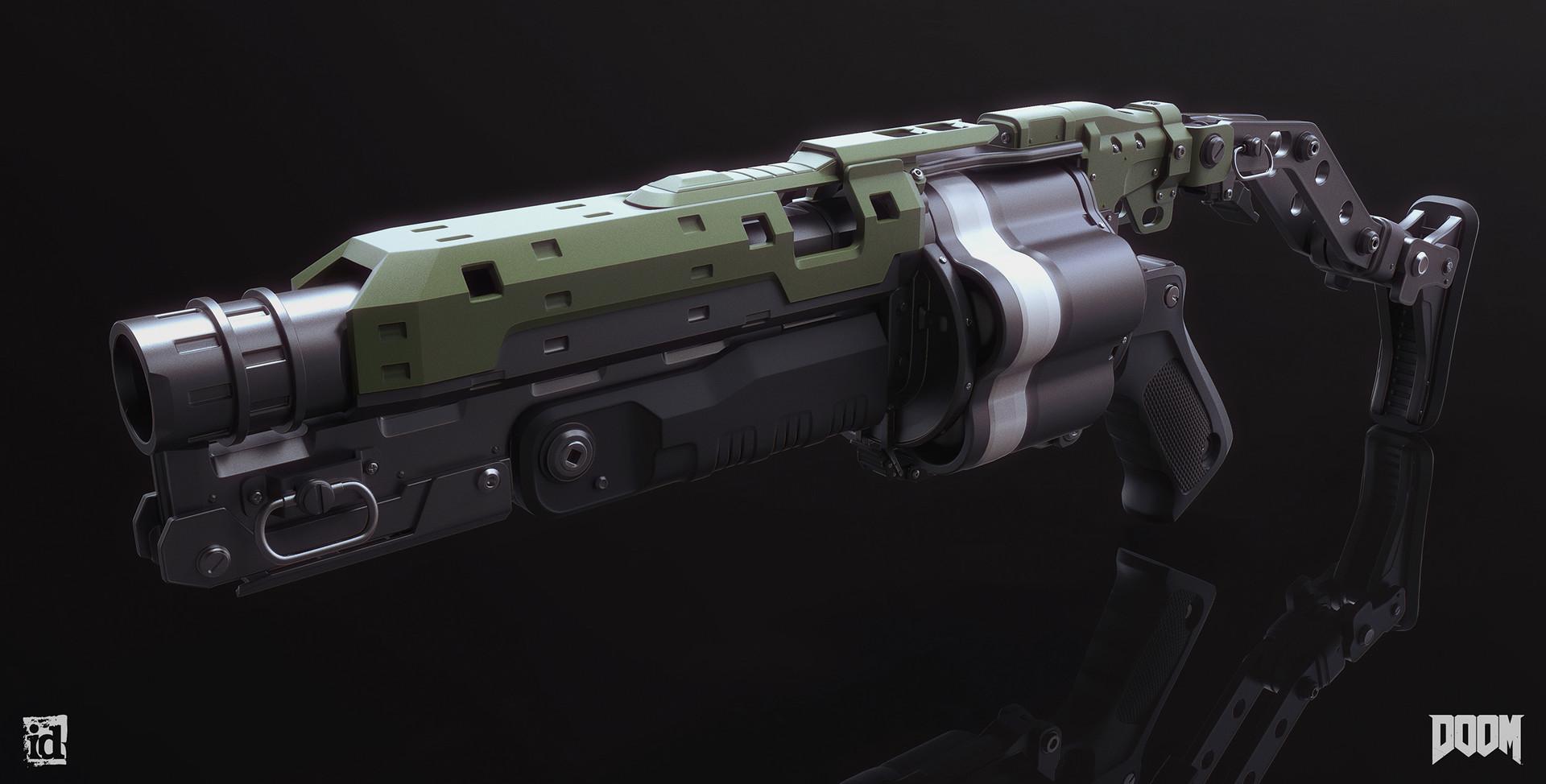 Mark van haitsma grenade launcher front perspective sm