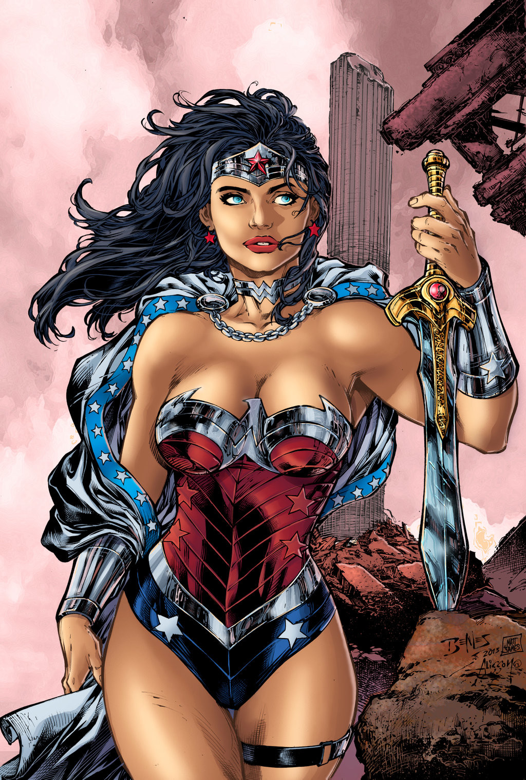 Matt james wonder woman by mattjamescomicarts daruvy7
