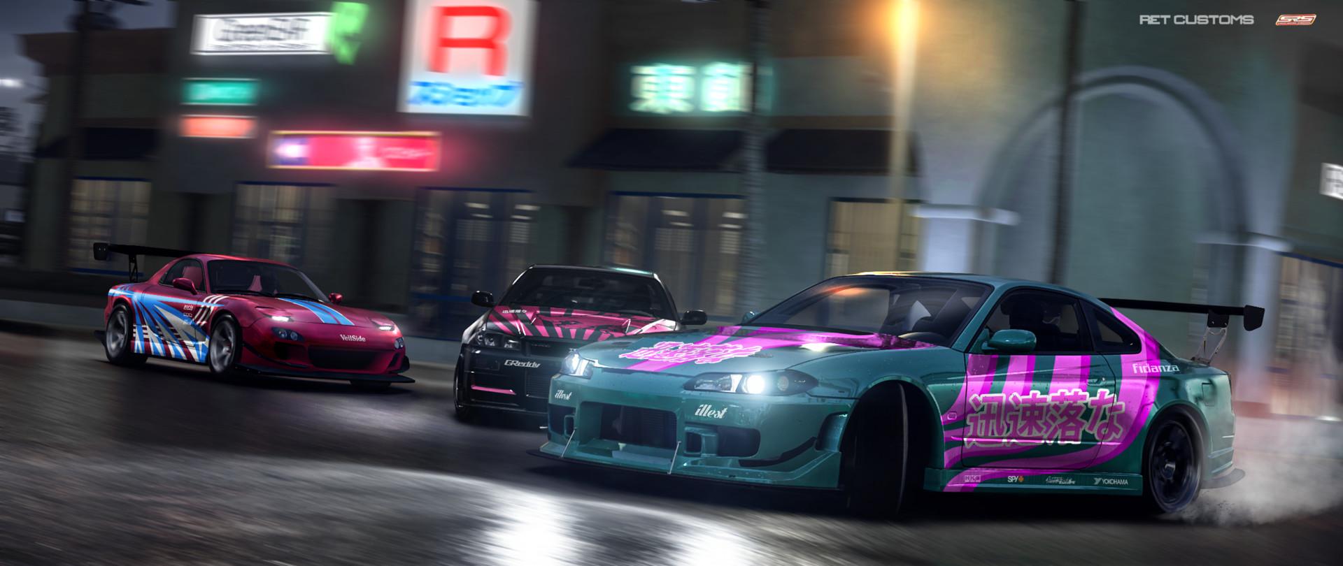 Artstation Street Racing Syndicate Gridvenom