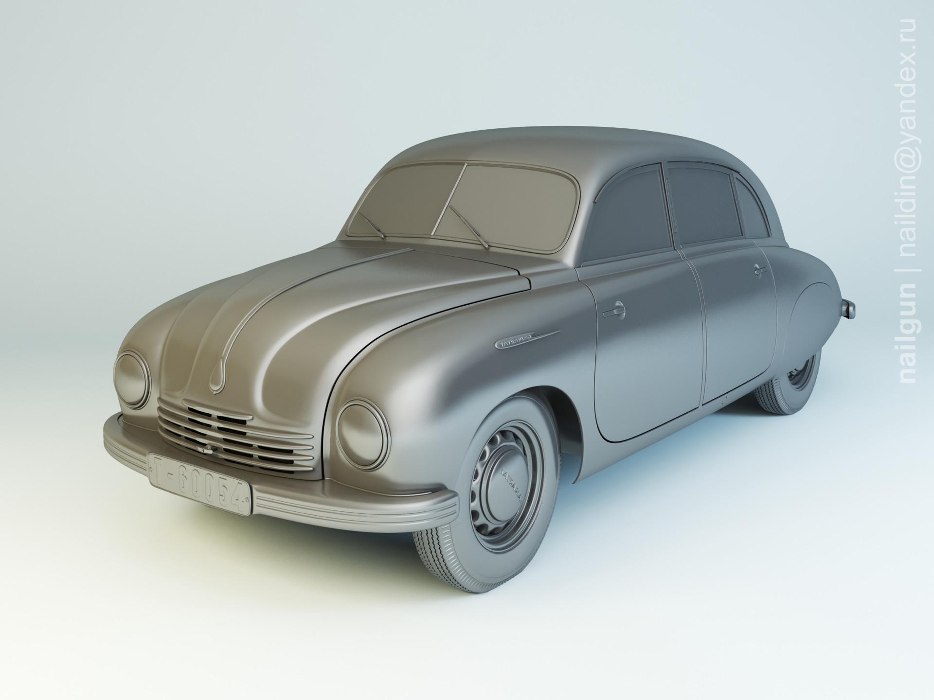 Nail khusnutdinov als 197 004 tatra t 600 modelling 0