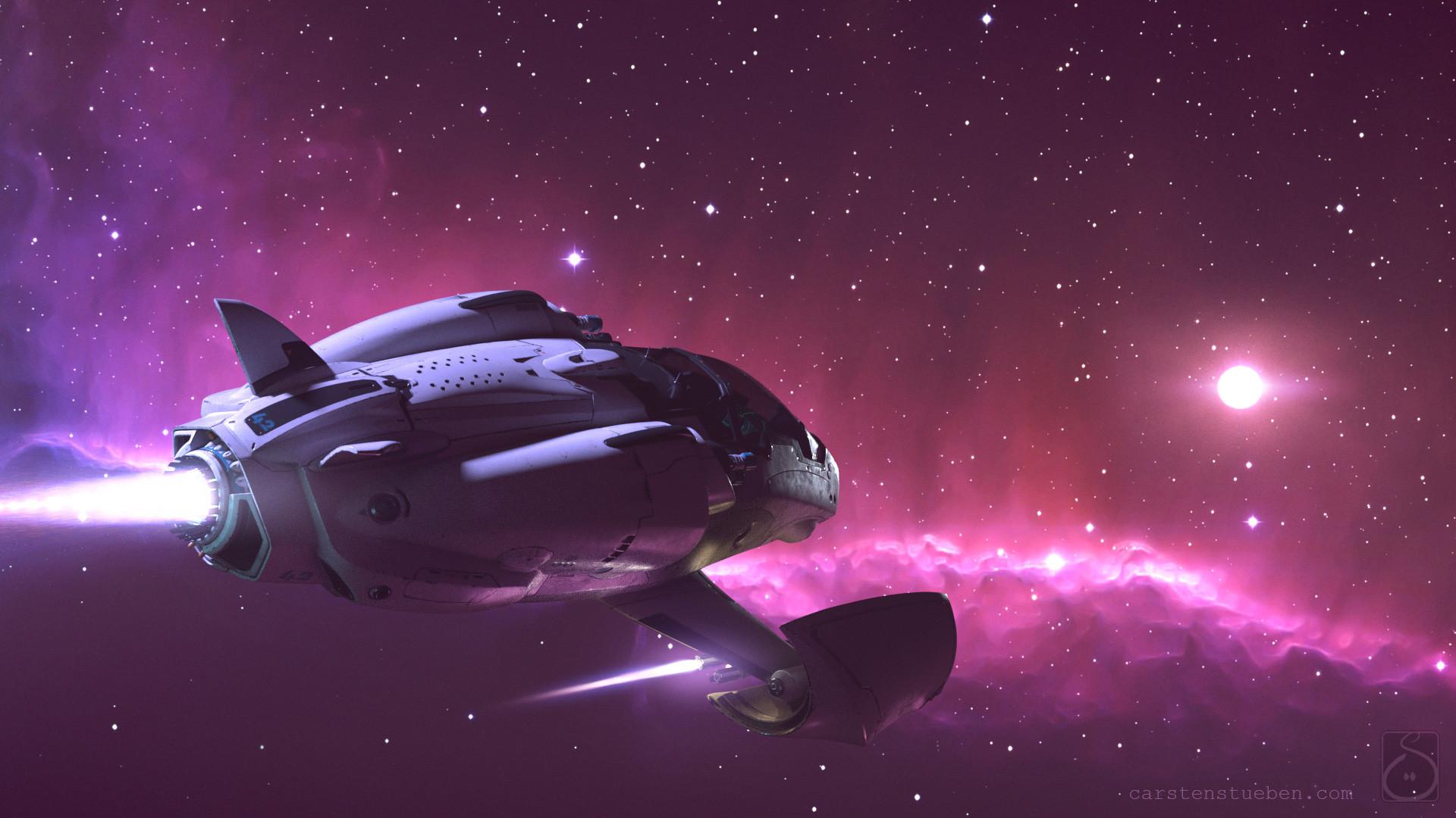 Carsten stueben thrust mantis42 deepspace 01