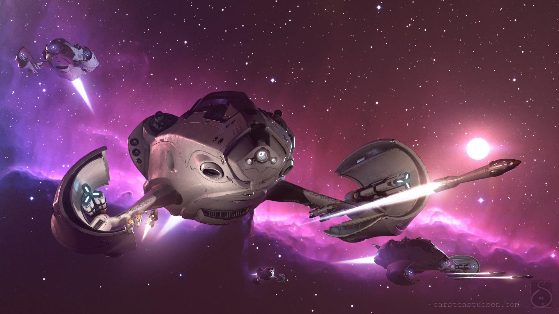 Carsten stueben thrust mantis42 deepspace 02
