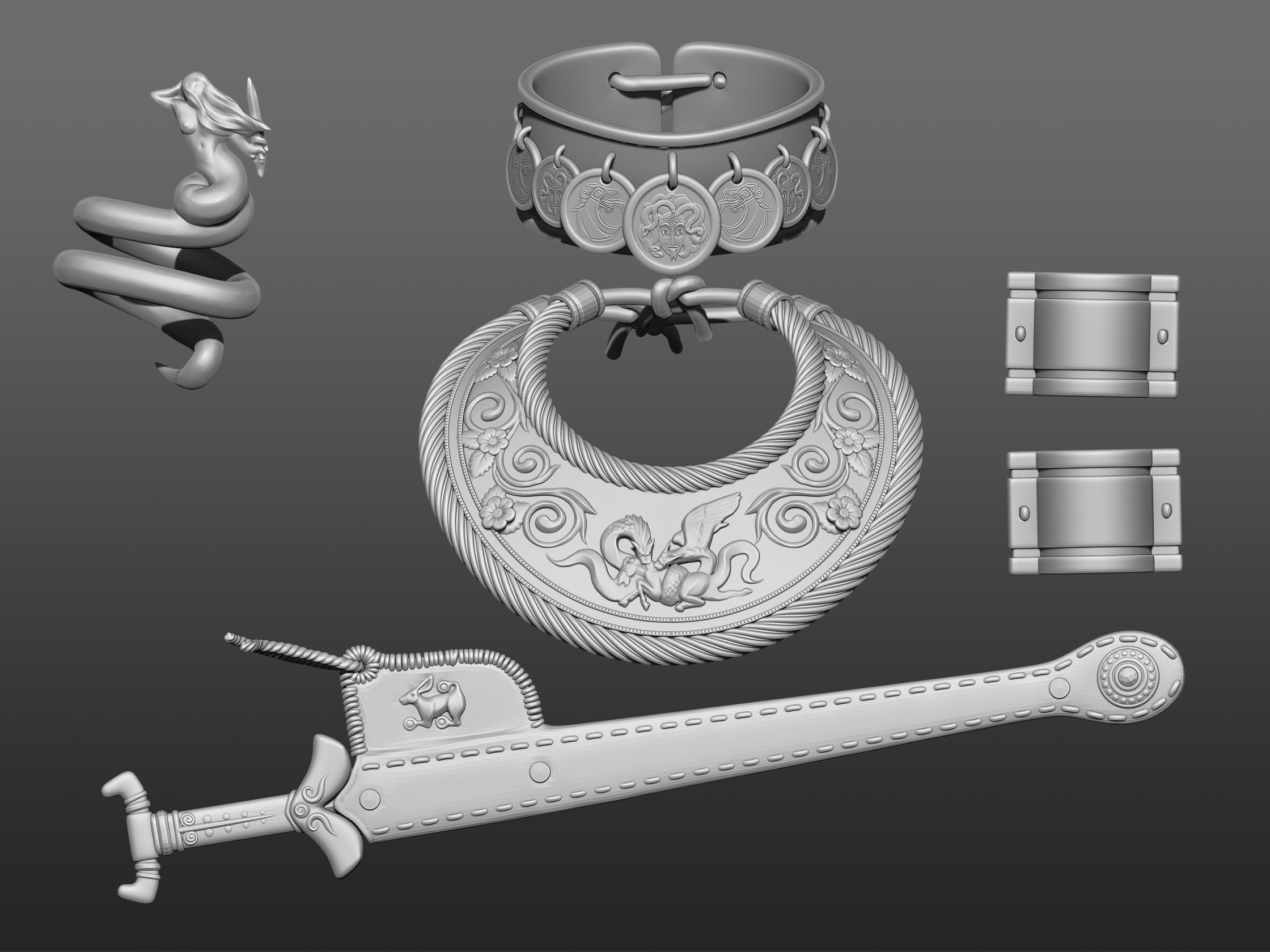 High Poly Details