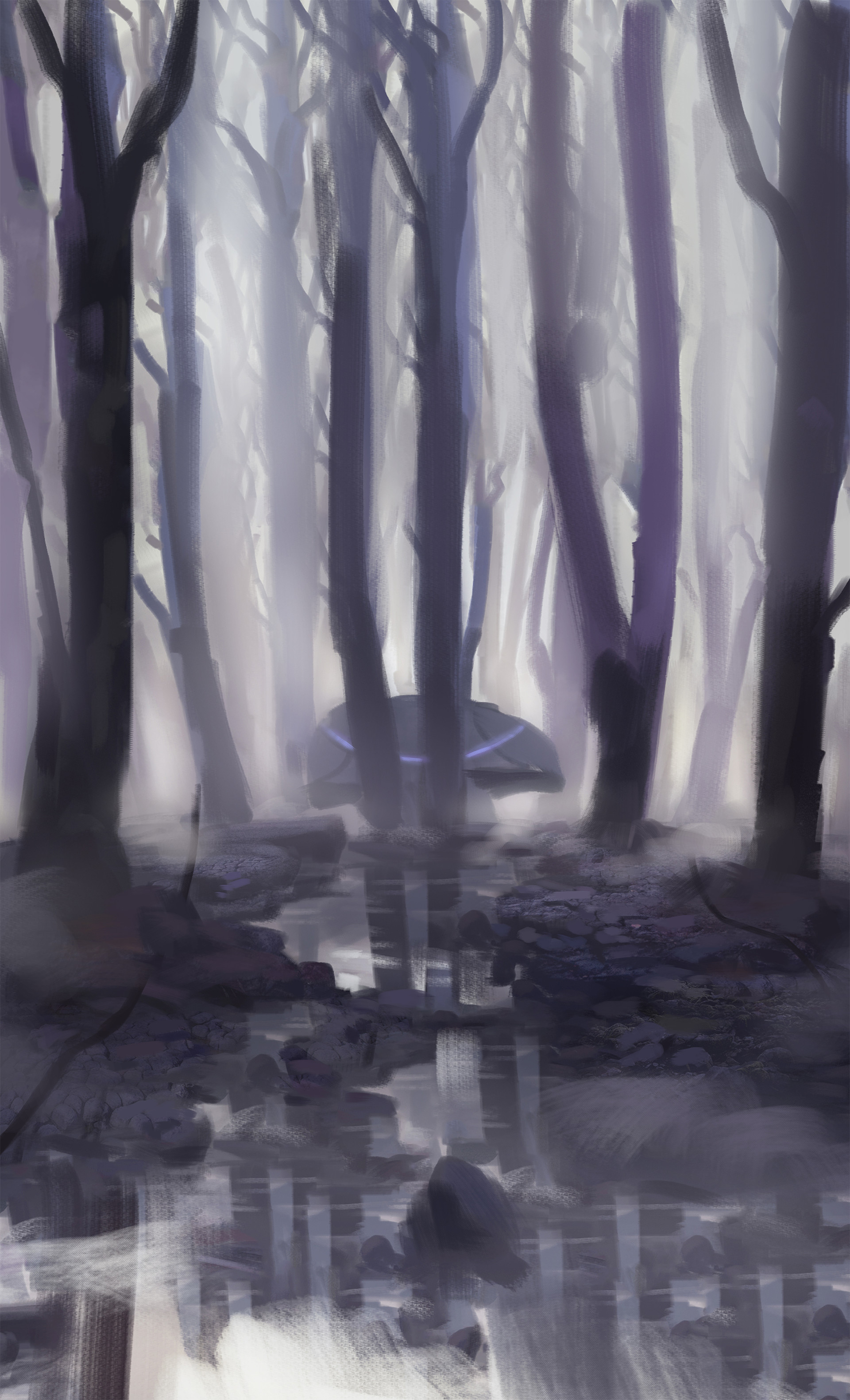 Florian moncomble forest sketch 01