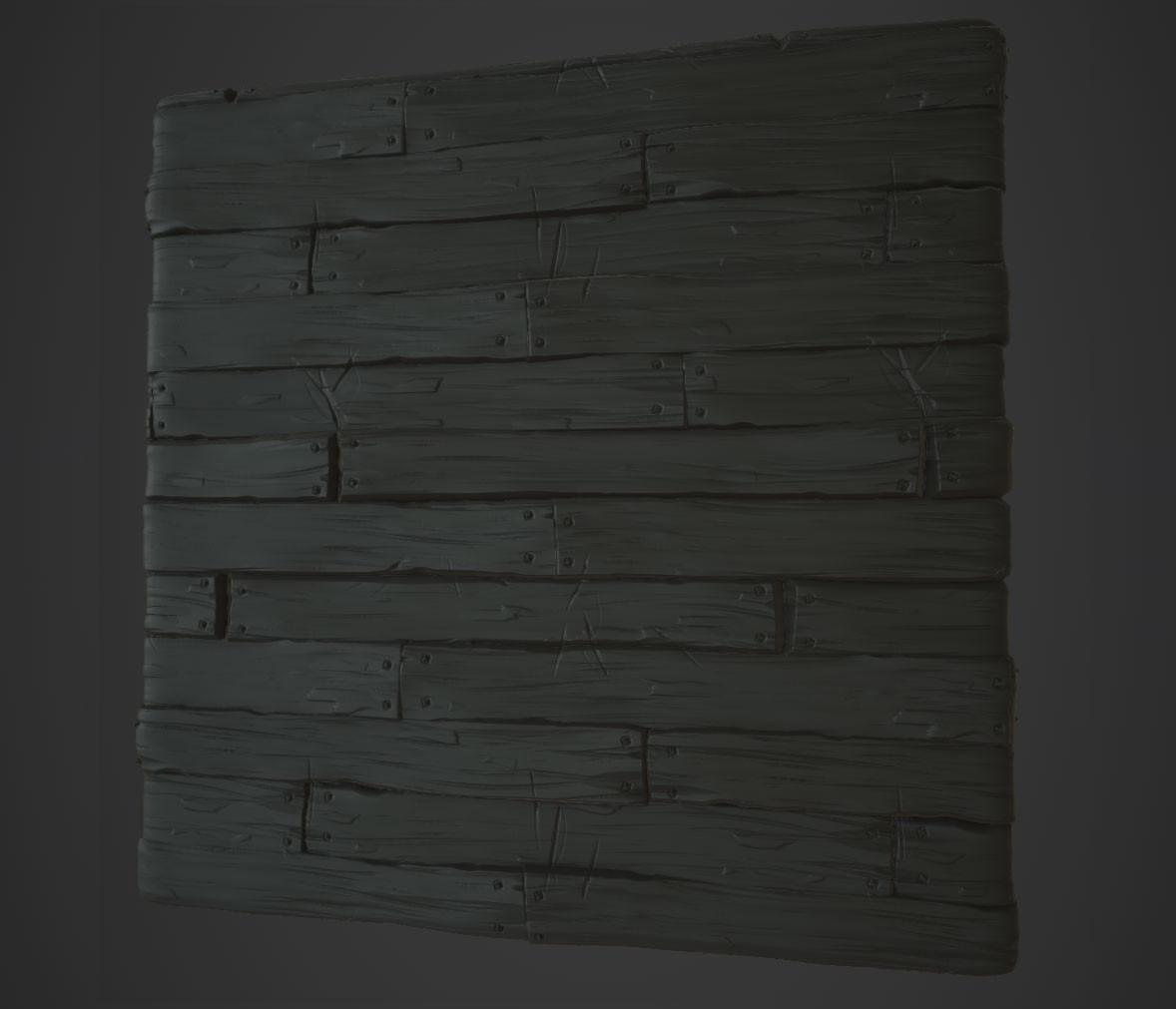 Hugo beyer stylized wood3