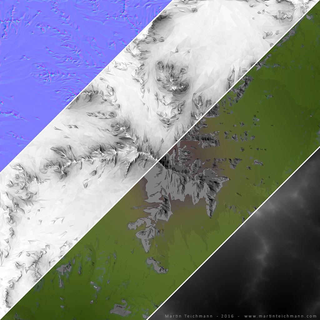 Terrain terxture layers