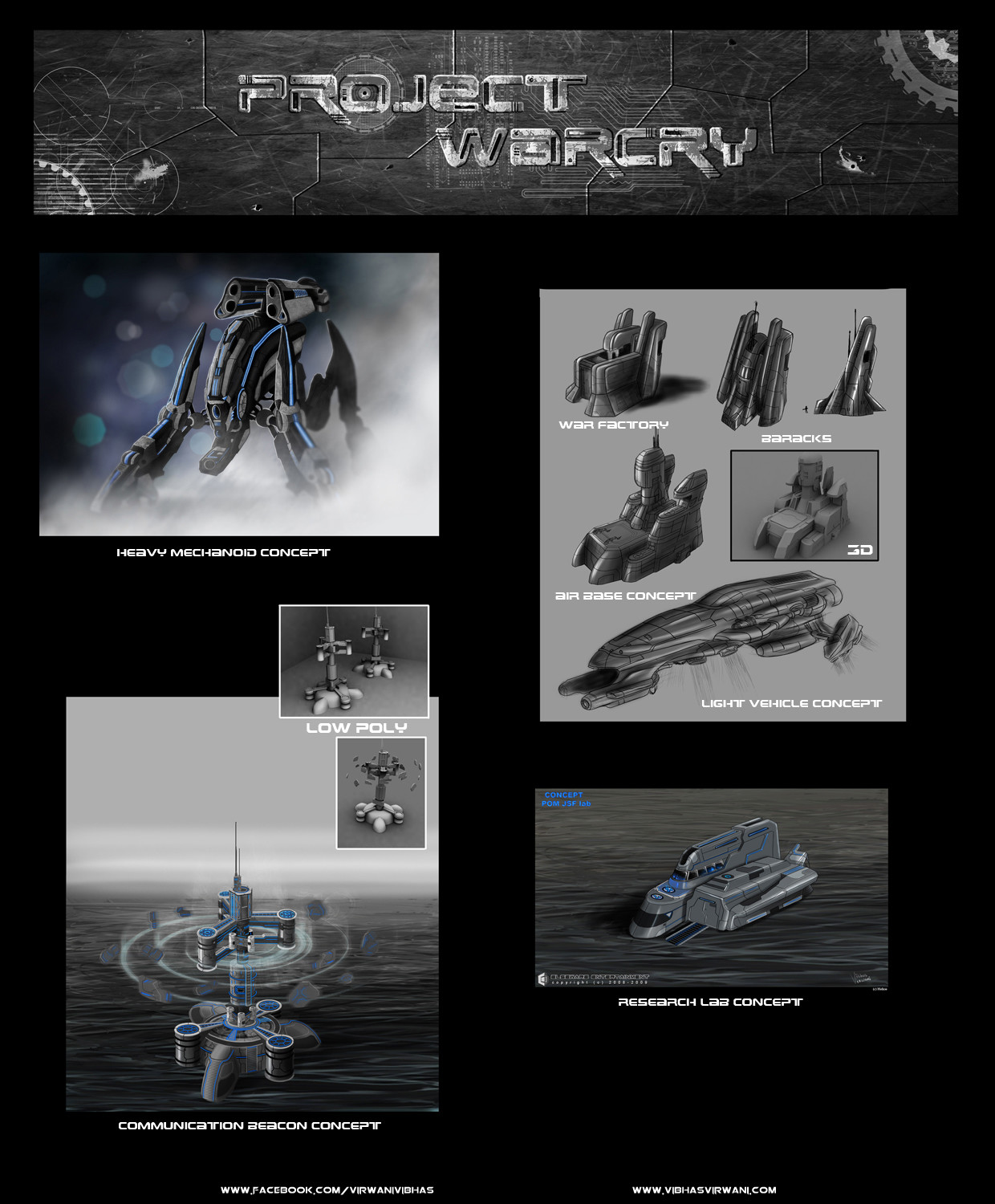 Vibhas virwani structure mech and vehicle concept art project warcry sci fi by vibhas virwani 1