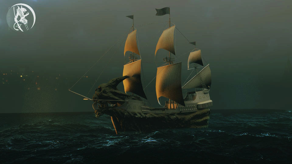 Ghost Pirates ship