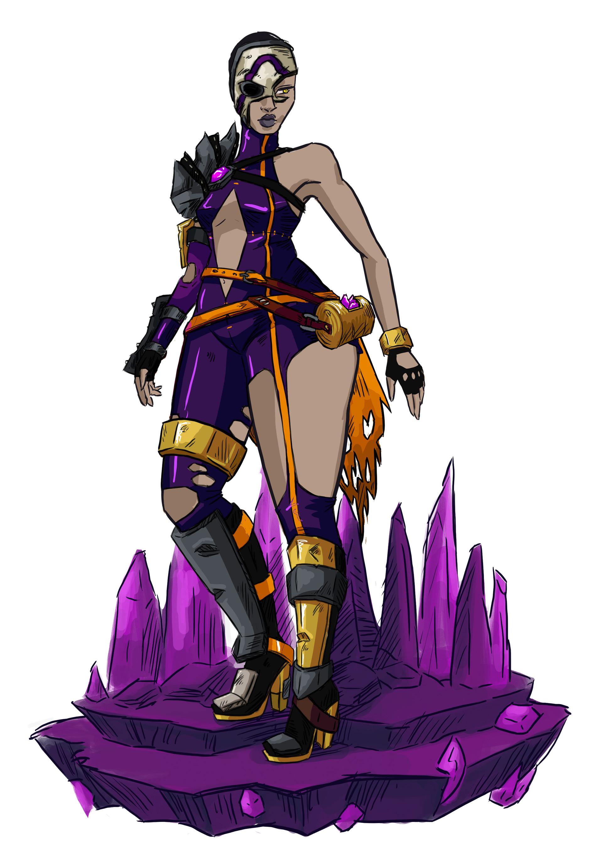 Helen o dell psyren final outfit