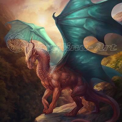 Vasilyna holod fantasy dragon