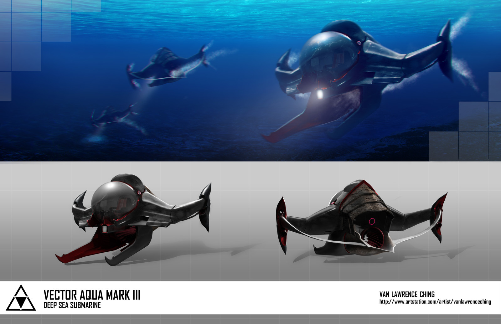 Deep-Sea Military Submarine