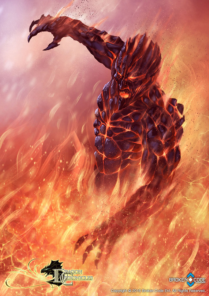 Fire Elemental - Dragon Chronicles