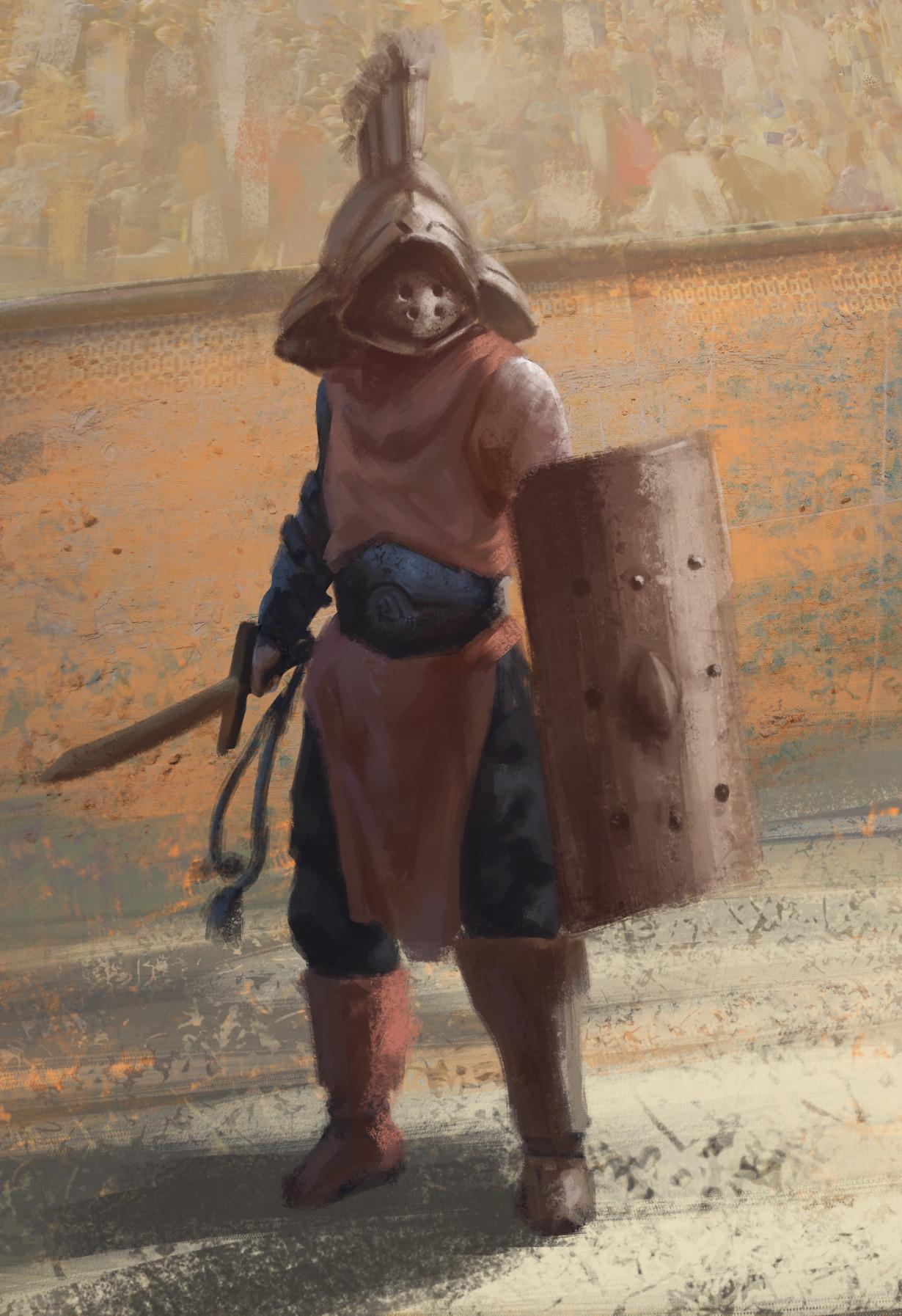 Manuel robles gladitator
