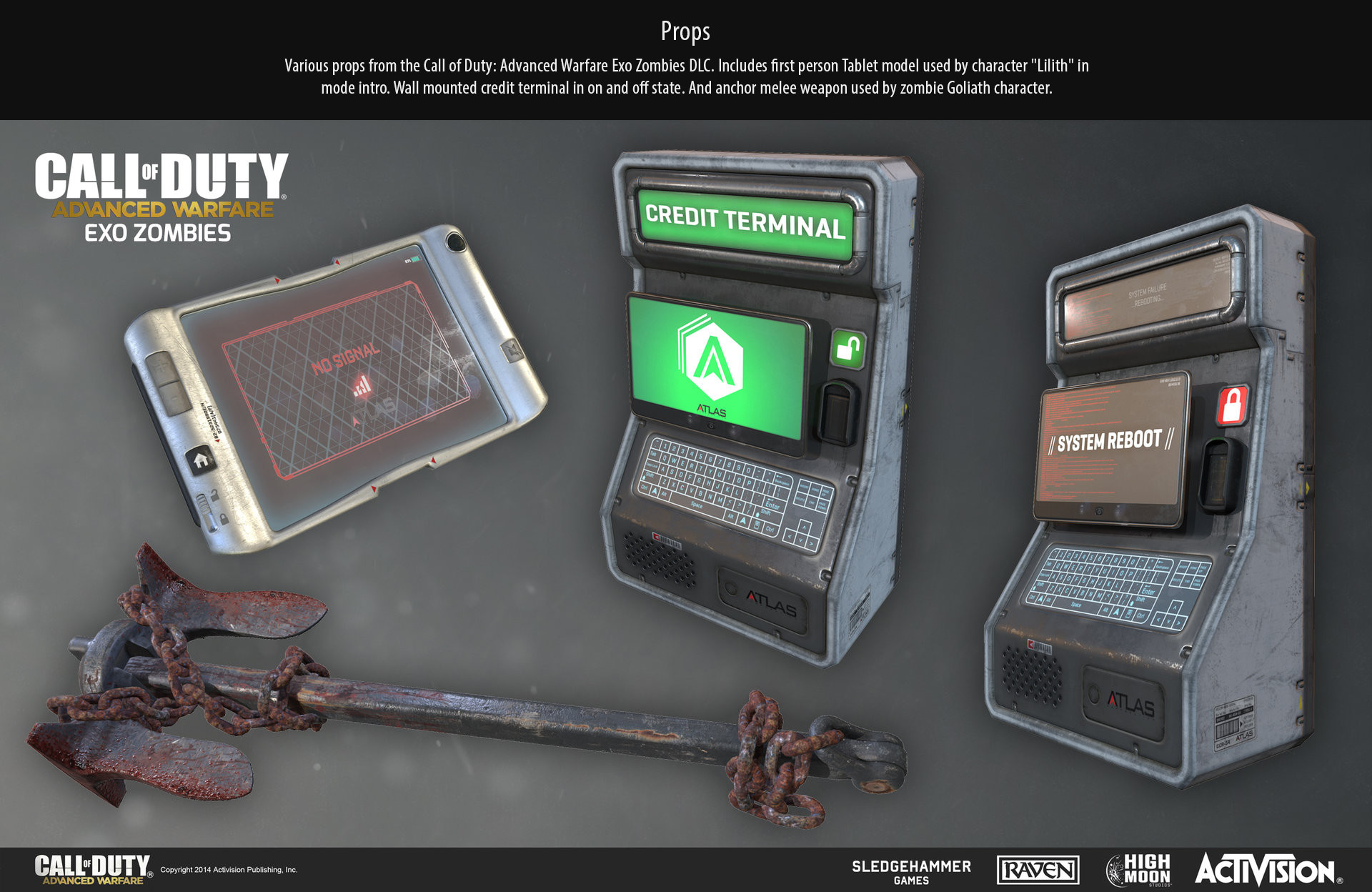 Ethan hiley exo props