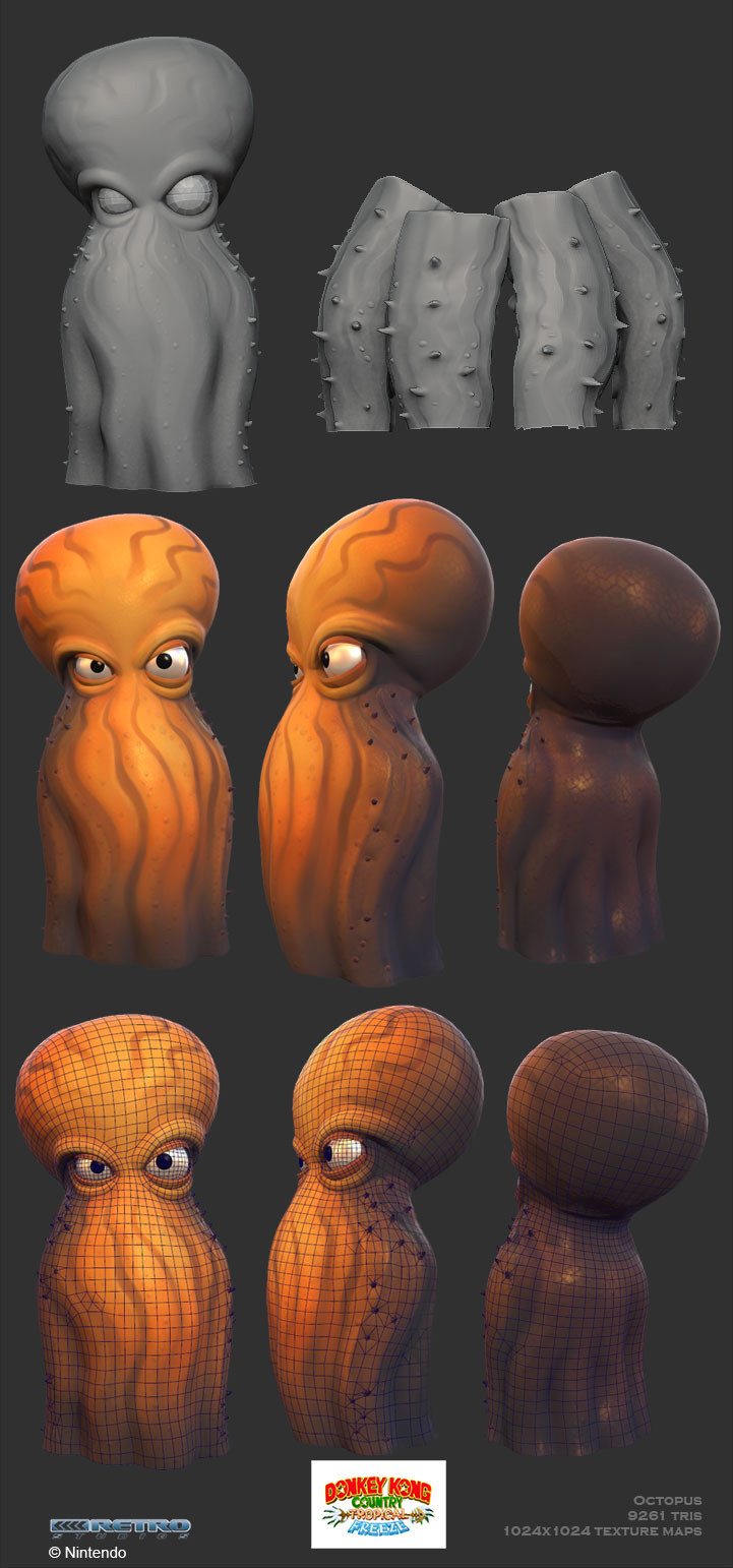 Crystel land octo