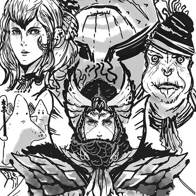 Julian tan comic drafts by phantasmalblue da4xb61