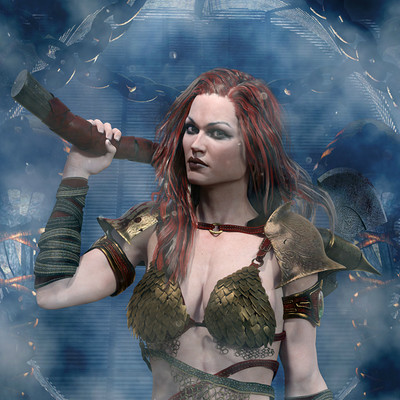 Paola giari barbarian girlresized