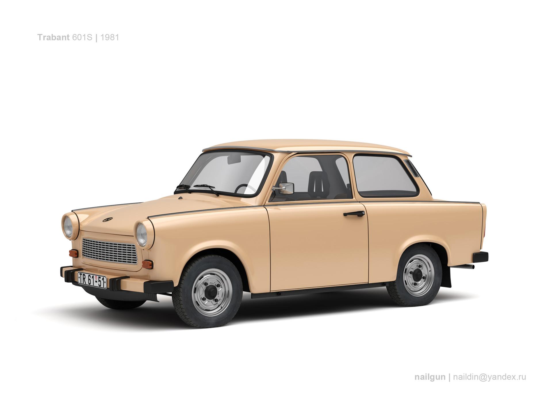 Nail khusnutdinov germany trabant 601s limousine 0
