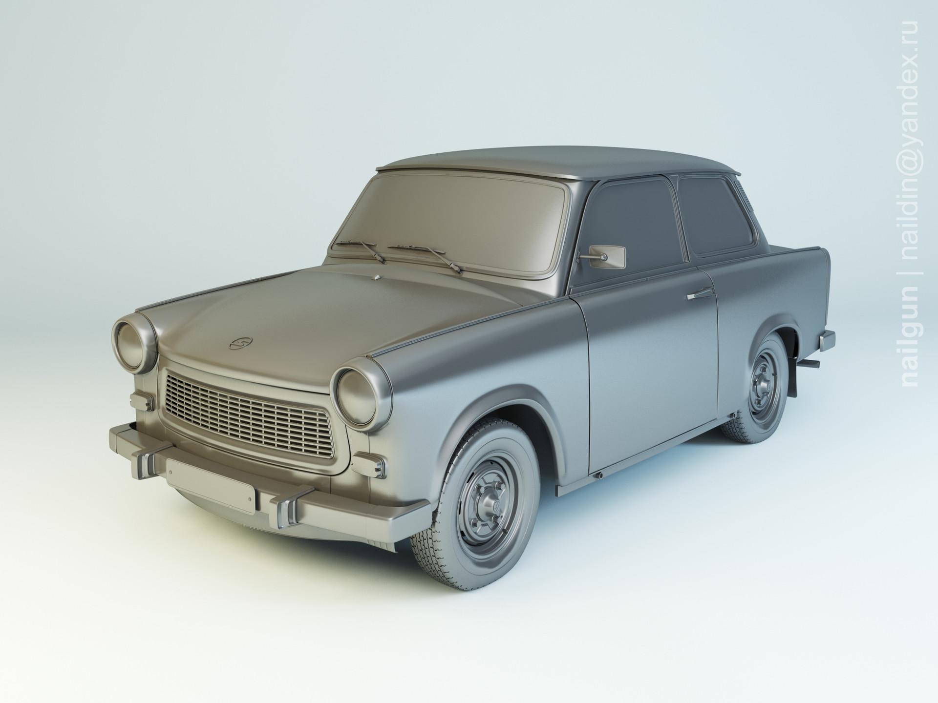 Nail khusnutdinov zals 151 000 trabant 601 limo modelling 0