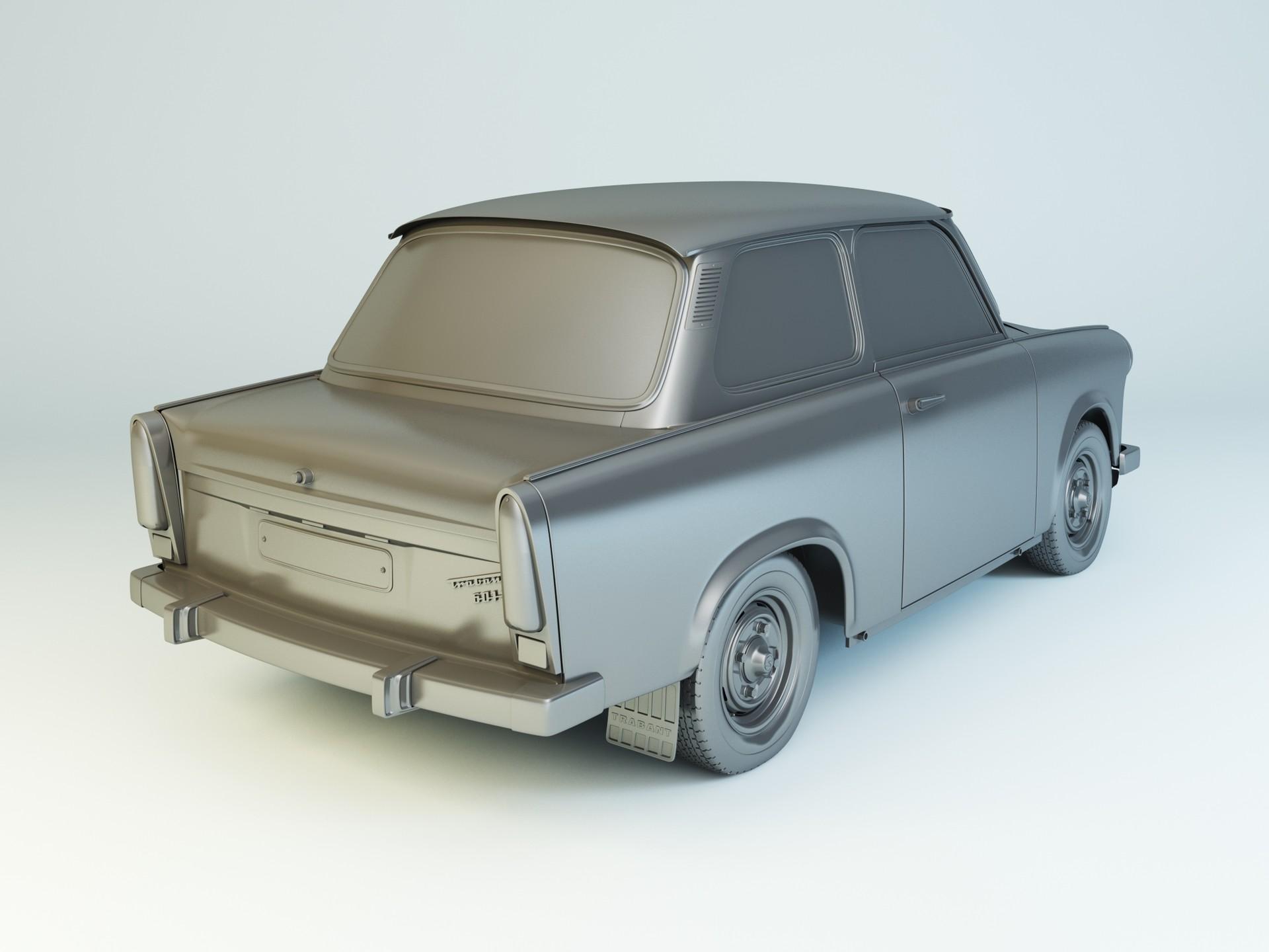 Nail khusnutdinov zals 151 000 trabant 601 limo modelling 1
