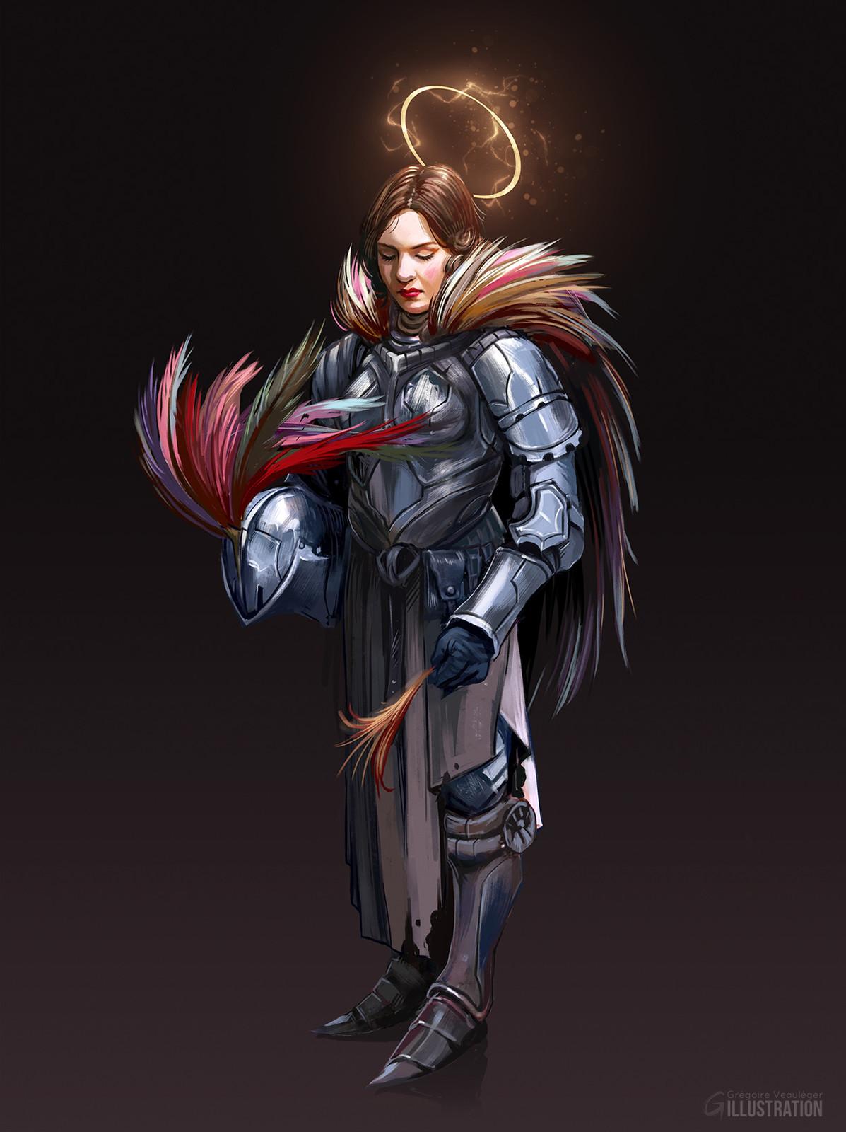 Holy knight.
