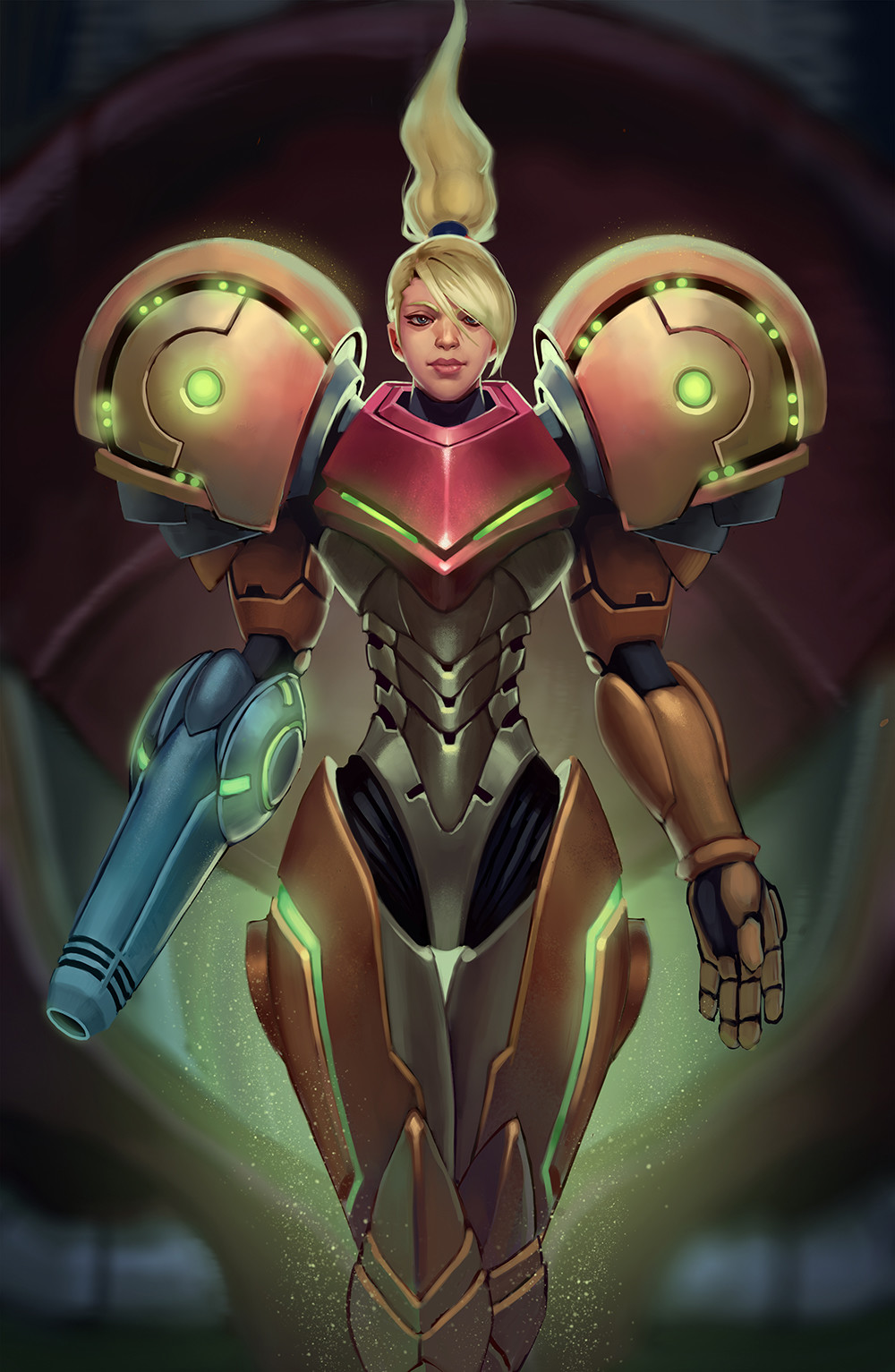 William wu samus illustration 3