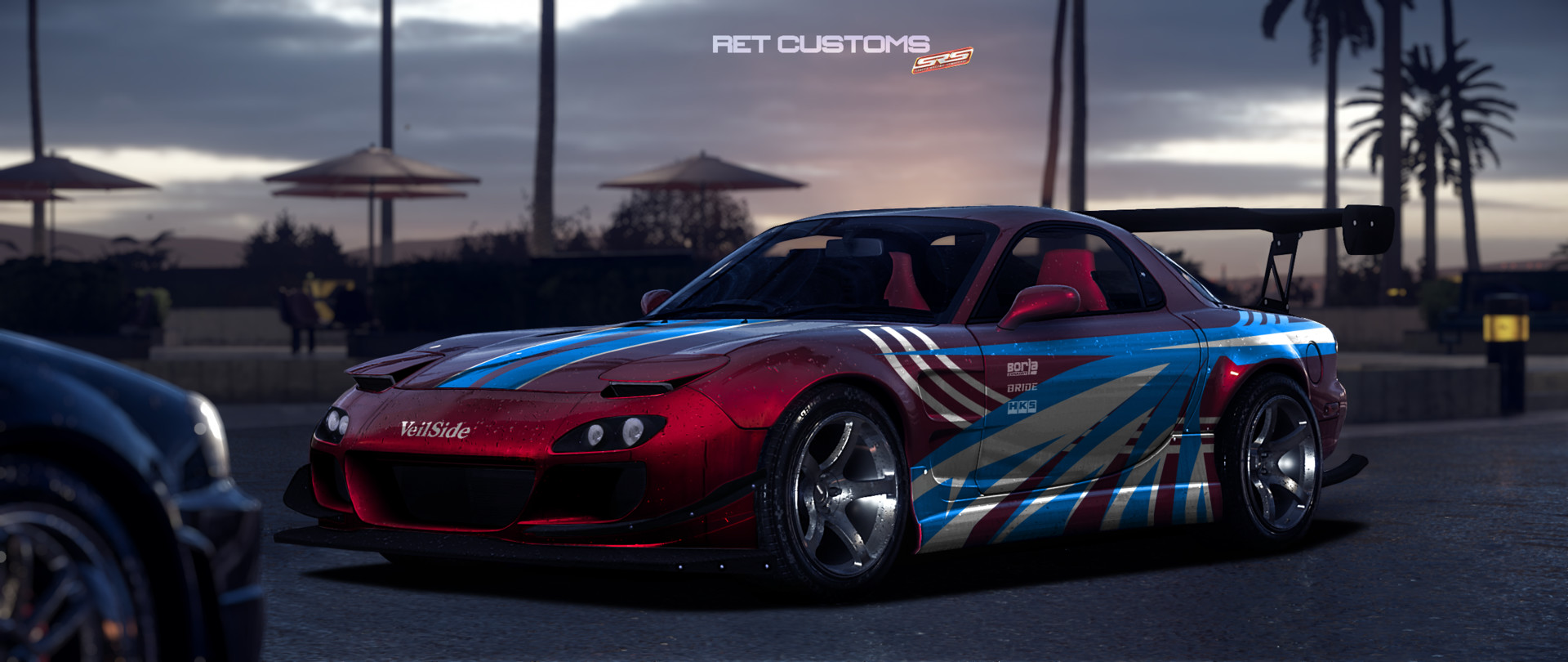 ArtStation - Mazda RX7 Street Racing Syndicate, .GRIDVENOM .