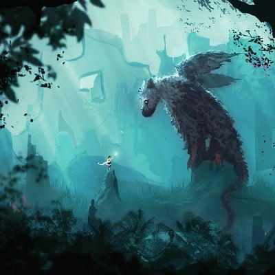 Anato finnstark first contact the last guardian by anatofinnstark dasojj8