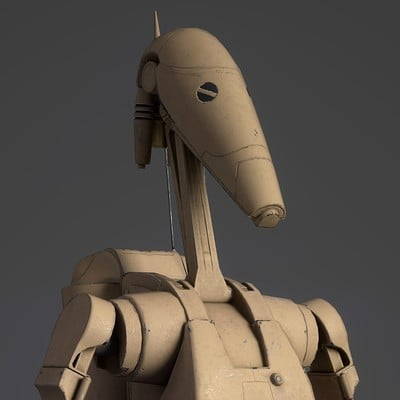 Tristan siodlak battle droid wip