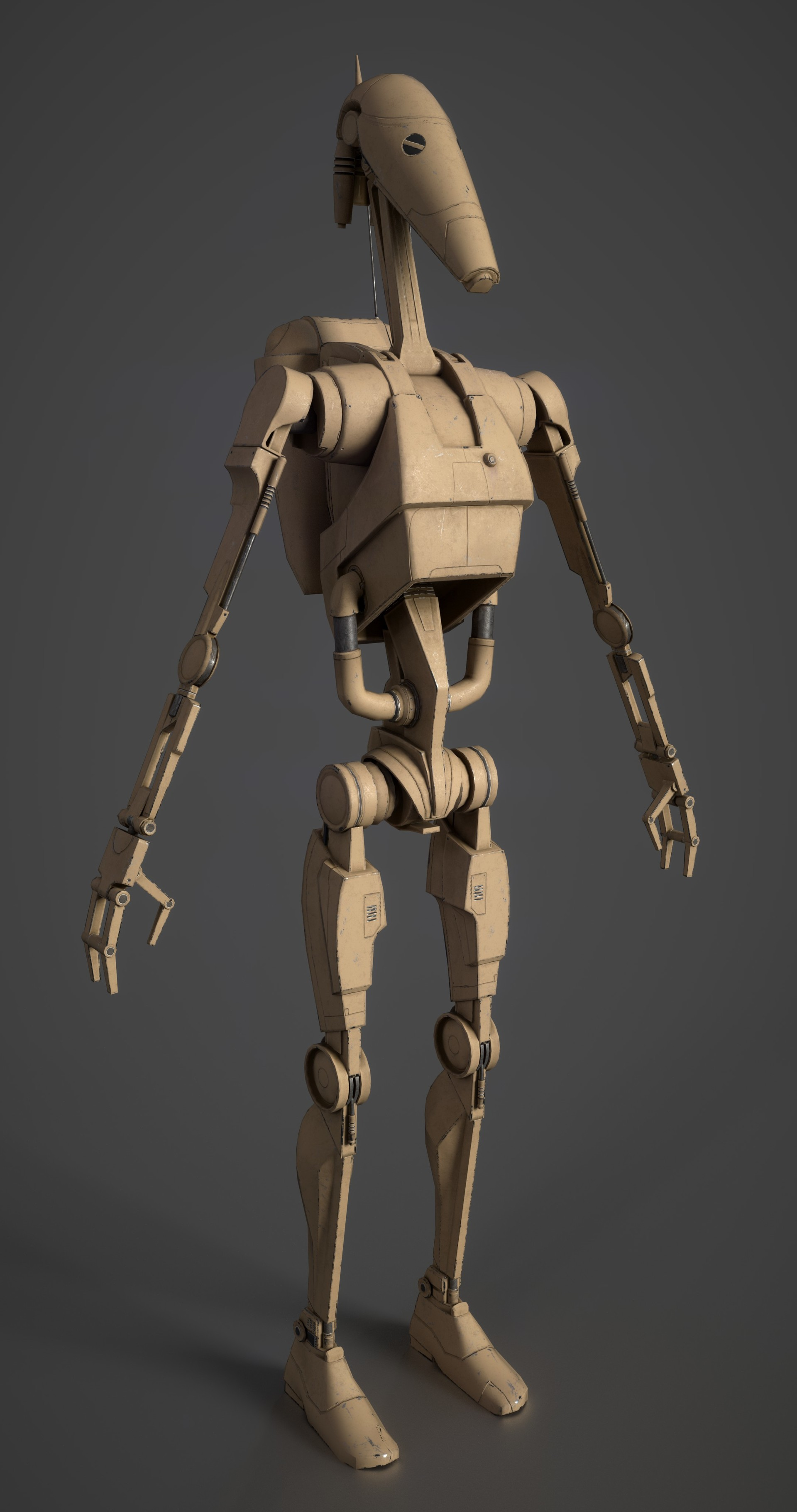 Tristan siodlak battle droid wip