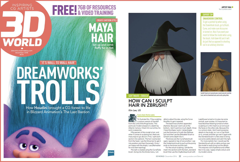 3D World Magazine 214