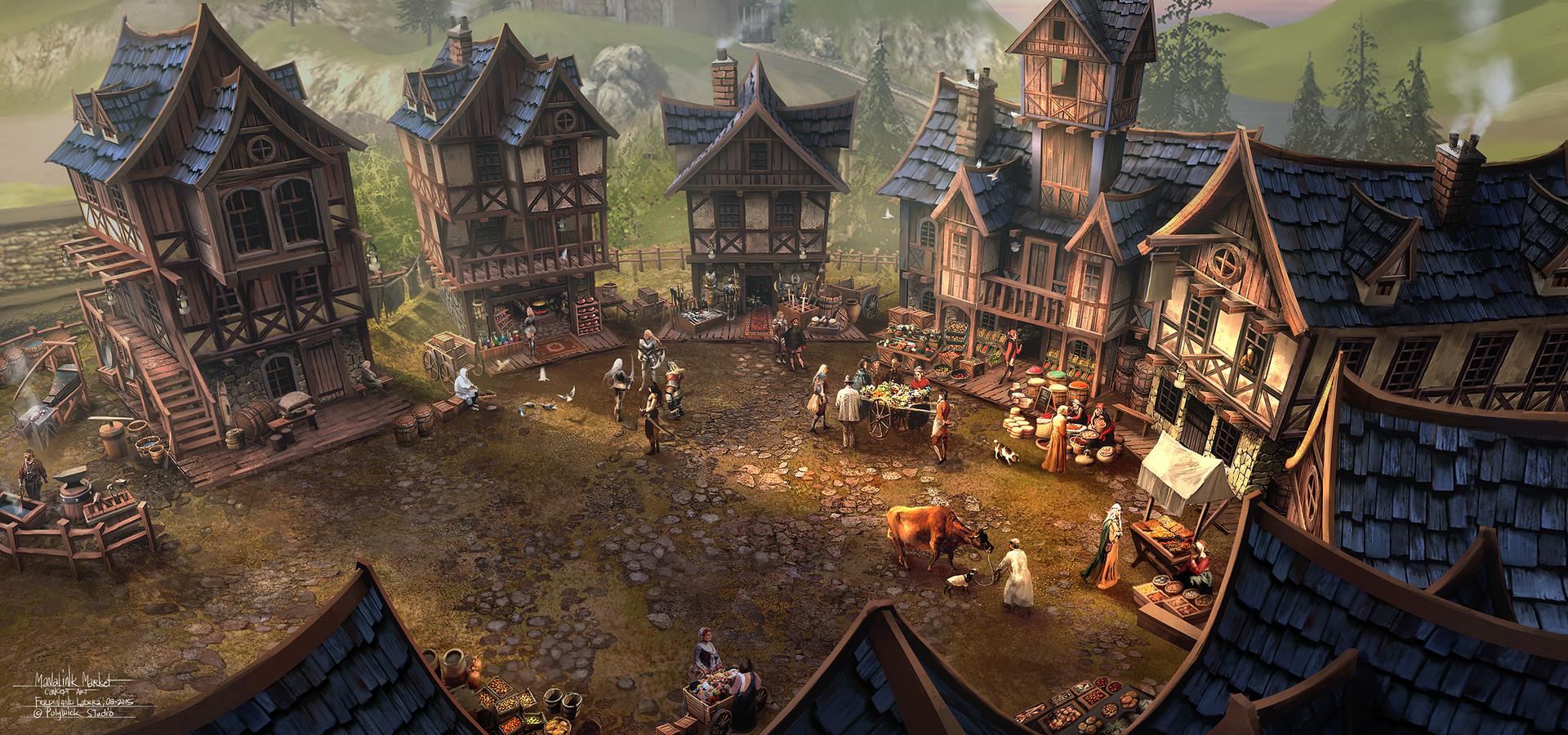 Ferdinand ladera manalink market