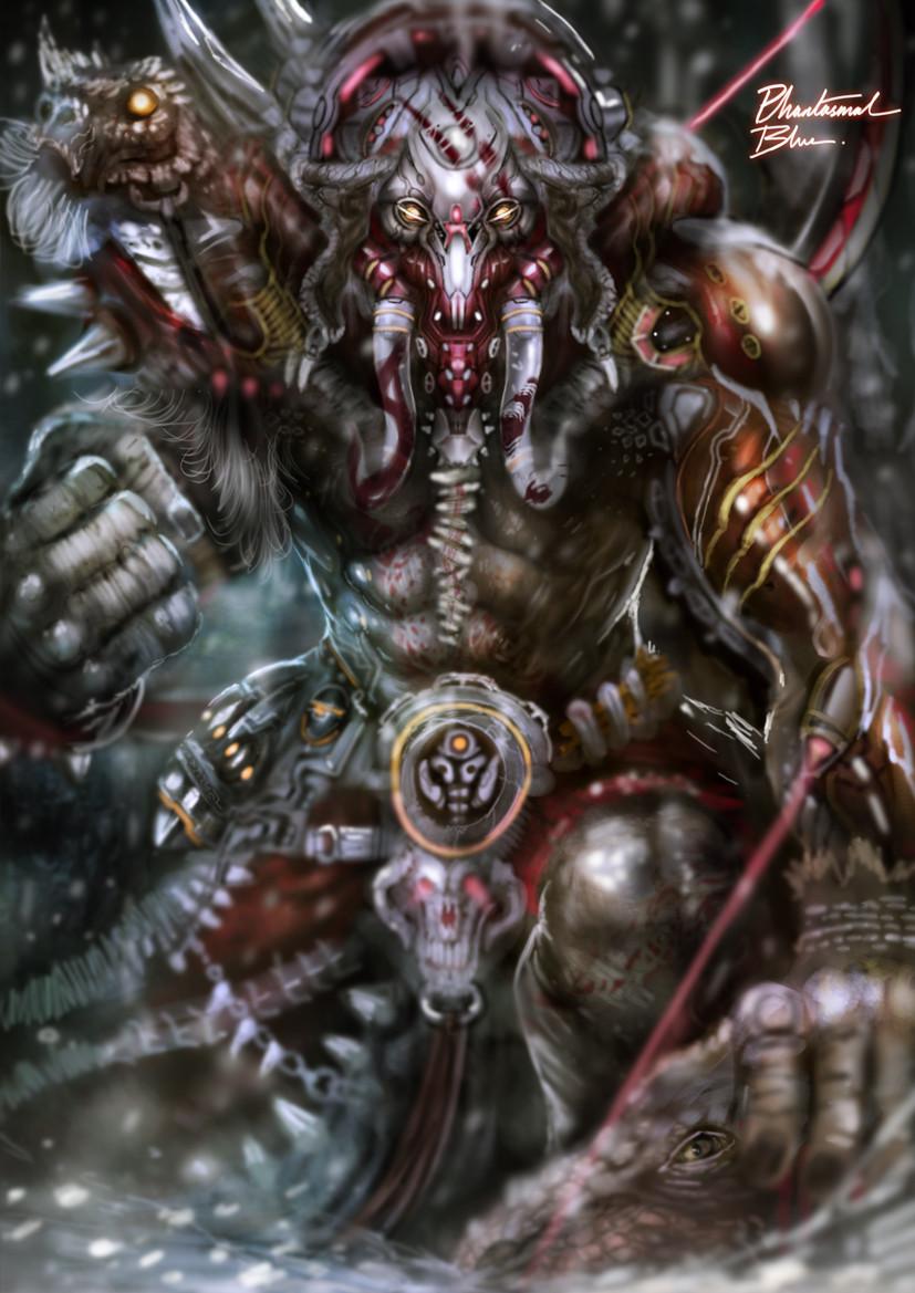 Julian tan sci fi fantasy hunter by phantasmalblue d9kaqsz 1