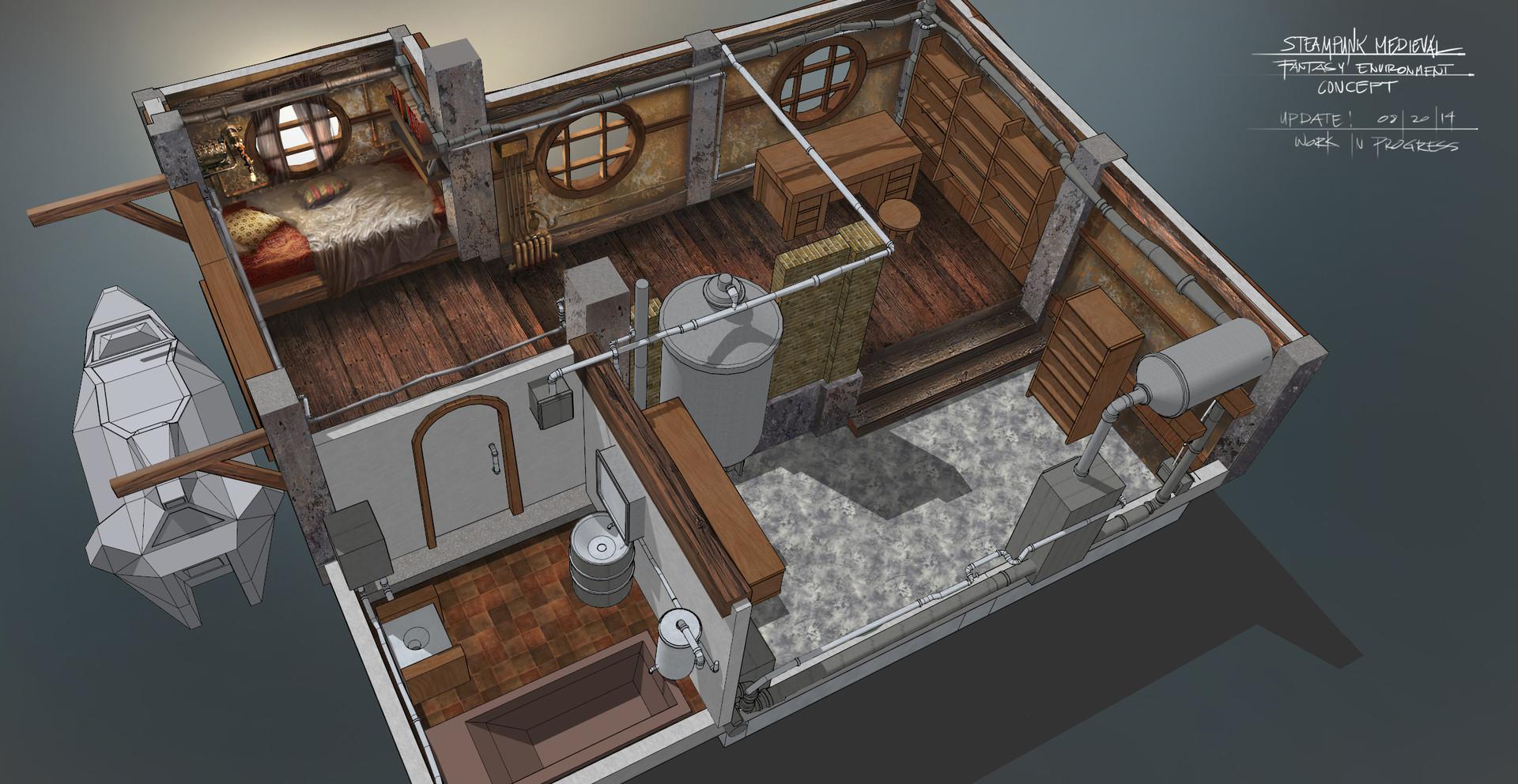 Ferdinand ladera steampunk interior wip0